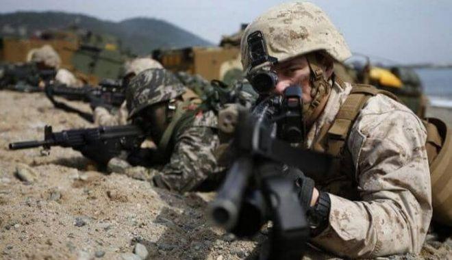 Foto: Militari români şi străini, la CETATEA 2018. Declaraţii ale şefului Statului Major al Apărării