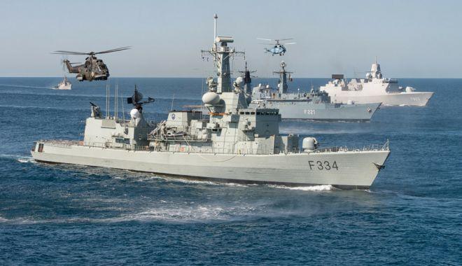 Foto: Apărarea la Marea Neagră. Declaraţii ministru Mihai Fifor