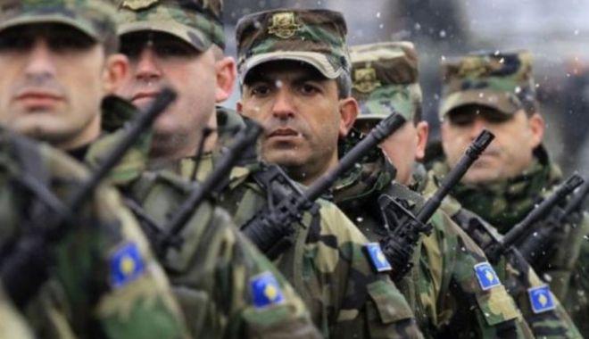 Foto: MAE, reacție față de demersurile Kosovo de a-și face armată