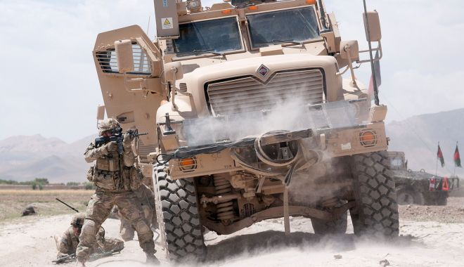 Foto: Cine sunt cei patru militari români răniți în Afganistan
