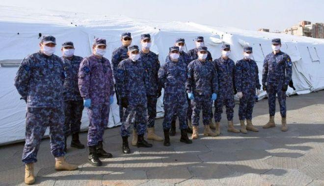 Foto: Armata în prima linie! Ce misiuni au îndeplinit militarii. Iată situația de la Constanța