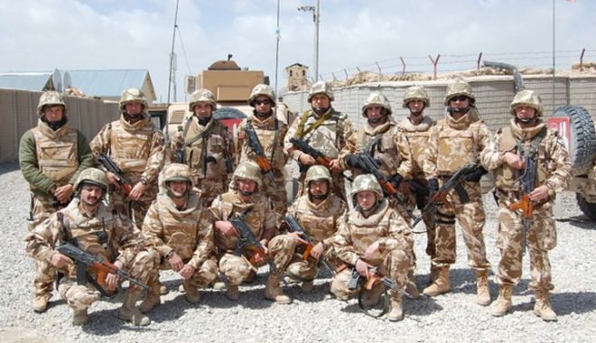 Foto: DECIZIE IMPORTANTĂ pentru Armata Română. Vizaţi - MILITARII cu misiuni în AFGANISTAN!