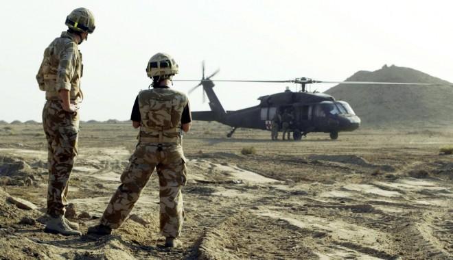 Foto: Militarii americani care se retrag din Afganistan vor trece prin baza Kogălniceanu şi portul Constanţa