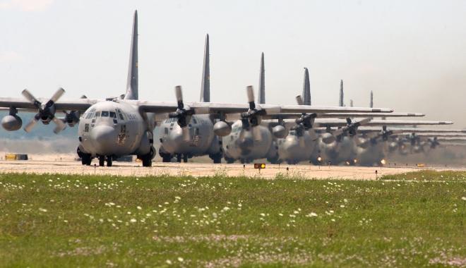 Foto: Ce au de gând americanii? Baza aeriană de la Mihail Kogălniceanu ar putea fi extinsă