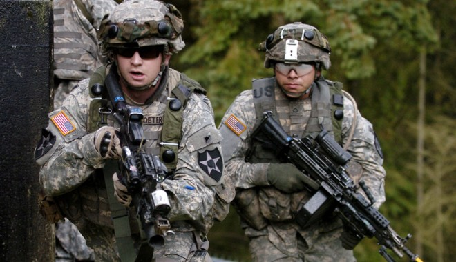 Foto: Armata americană preia comanda bazei de la Deveselu