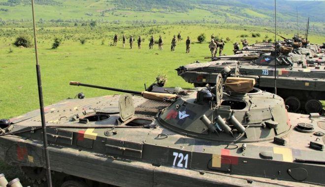 """Foto: După inamic! """"Dragonii Transilvani"""", exerciții de rezolvare a unor situații tactice"""
