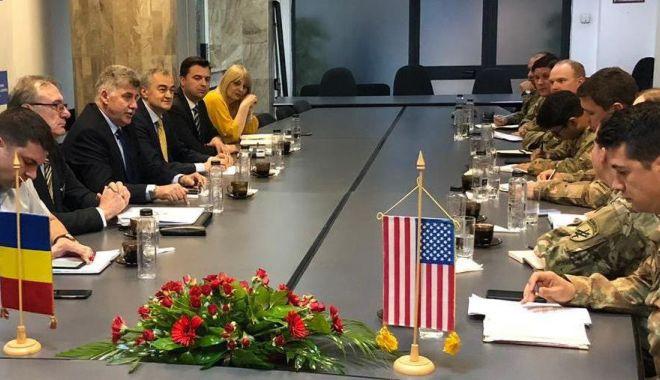 Foto: Exerciţiu de cooperare civili-militari, alături de americani
