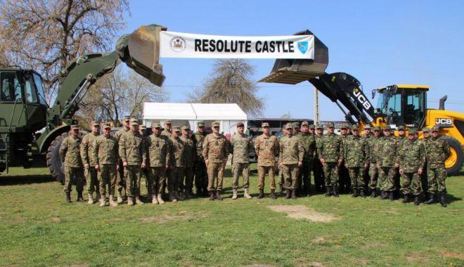 Foto: S-a dat startul exerciţiului multinaţional Resolute Castle 2019