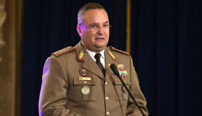 Foto: Şeful Statului Major al Apărării, întâlnire cu americanii, la Mihail Kogălniceanu. Subiectul discuţiilor