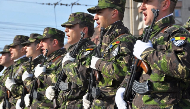 Foto: Anul 2017 este anul modernizării Armatei României