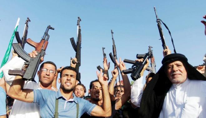 Foto: Armele livrate Irakului, folosite la comiterea  de crime de război