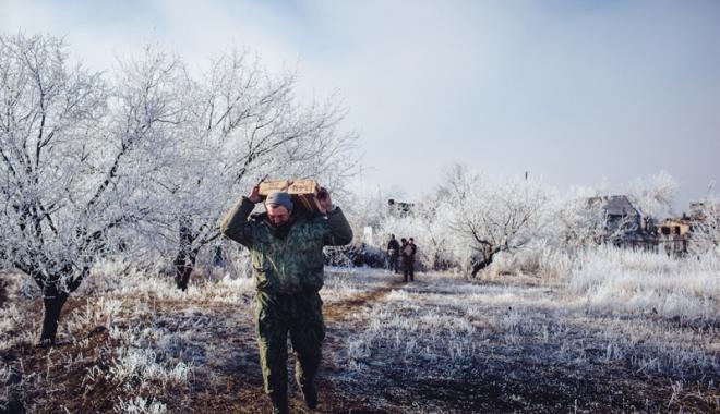 Foto: Linişte şi pace! O nouă încetare a focului, în estul Ucrainei