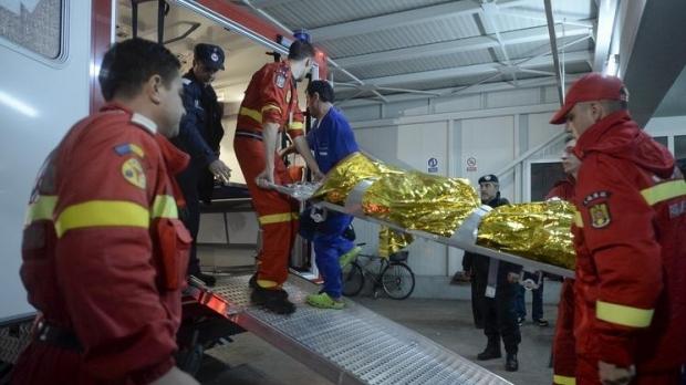 Pacientul cu arsuri pe 75% din corp a plecat spre Belgia cu o aeronava MApN