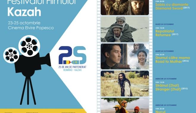 Foto: Cinci pelicule de excepţie, prezentate la Festivalul de Film Kazah