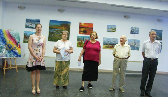 """Foto: """"Patrie și onoare"""", expoziție de artă plastică, la Muzeul Marinei Române"""