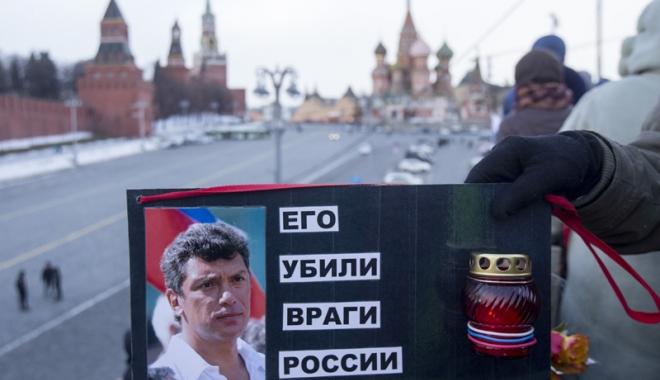 Foto: Asasinarea opozantului rus  Boris Nemţov. Condamnări  între 11 şi 20 de ani de închisoare