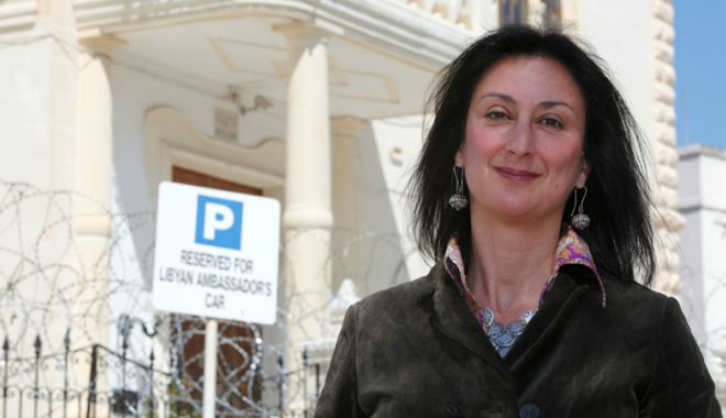 Foto: Asasinii jurnalistei Daphne Caruana Galizia  au fost identificaţi