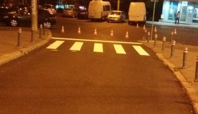 Foto: GALERIE FOTO. Asfaltări în Constanţa. Se extinde strada Traian
