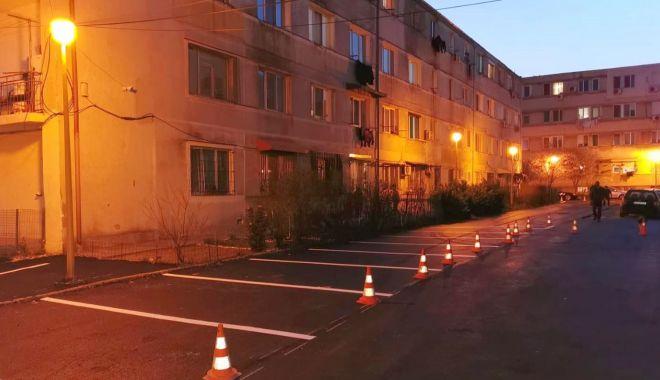 Foto: Lucrări de asfaltare și marcaje retrasate, la Constanța