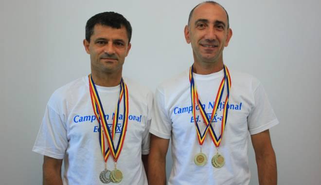 Foto: Atleţii de la SanaSport, trei titluri la Naţionalele pe pistă Masters