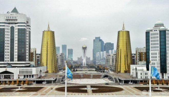 """Foto: Astana, capitala Kazahstanului, redenumită """"Nursultan"""""""