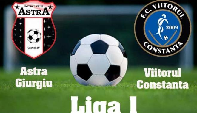 Foto: Victorie pentru Astra Giurgiu, în meciul cu Viitorul Constanţa