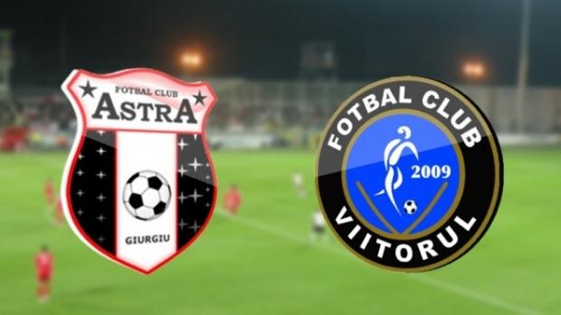 CUPA ROMÂNIEI FINALA. S-au pus în vânzare bilete la meciul ASTRA - VIITORUL