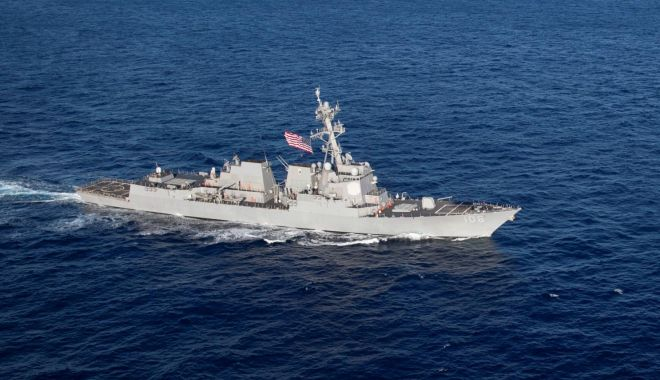 Foto: Iranul amenință din nou SUA: Putem scufunda navele de război americane