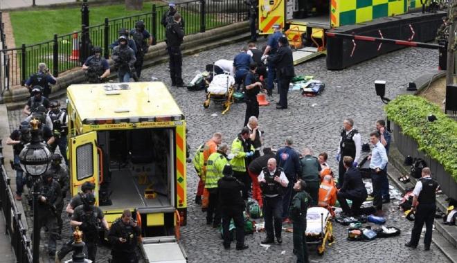 Foto: Atentatul de la Londra / Poliţia nu a găsit legături între atacator şi Statul Islamic
