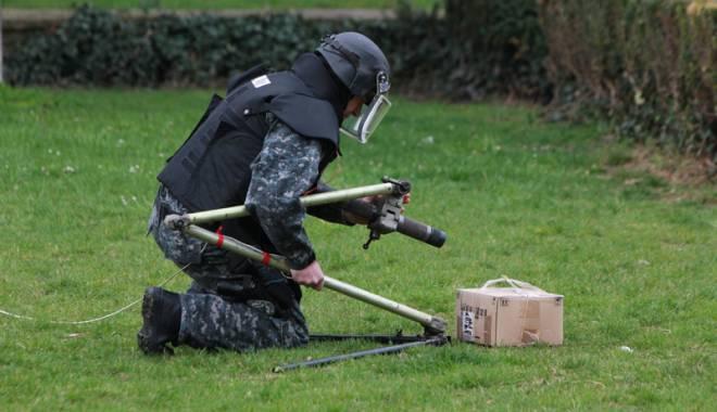Foto: Reţinut după ce a încercat  să detoneze o bombă de Ziua Naţională