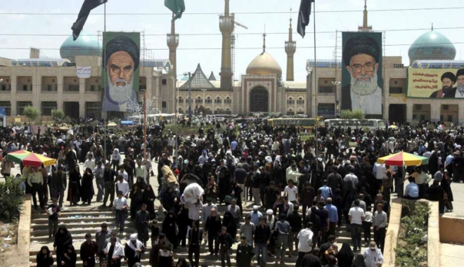 Foto: Atentate la mausoleul ayatollahului Khomeini şi la parlamentul iranian