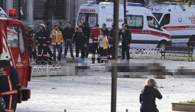 Foto: Atentatul din Istanbul, comis de un cetăţean turc, membru ISIS