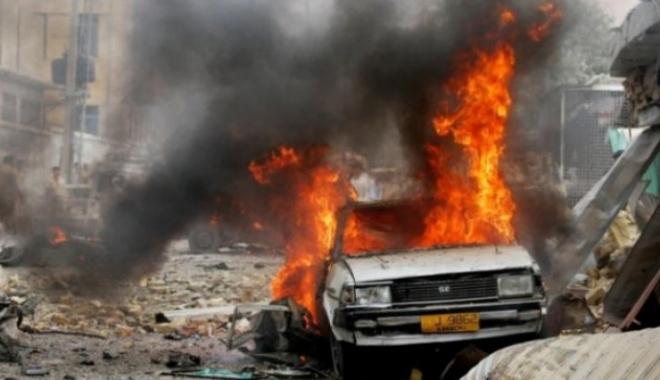 Foto: Dublu atac sinucigaş în Irak, revendicat de ISIS. Cel puţin 50 de morţi, peste 80 de răniţi