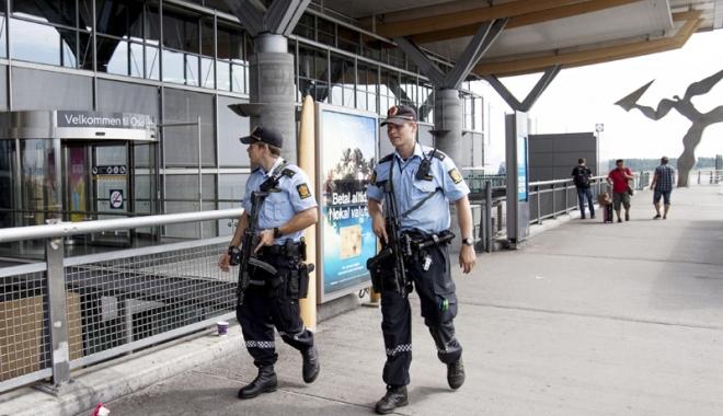 Foto: Atentat dejucat la Oslo. Geniştii  au dezamorsat un dispozitiv exploziv