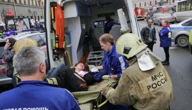 Foto: Atentatul din Sankt Petersburg, revendicat. Atacatorul a acţionat la ordinele Al-Qaida