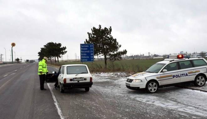 Foto: Sfaturi de sezon pentru şoferii constănţeni, de la Poliţia Rutieră