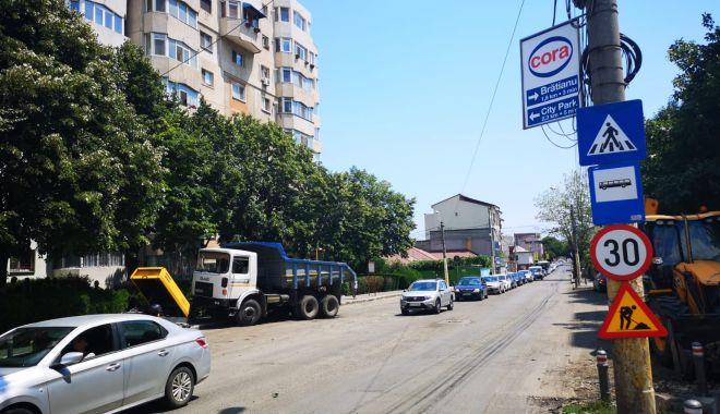 Foto: Atenție! Trafic restricționat pe un tronson al străzii Baba Novac
