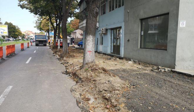 Străzi, trotuare și parcări. Luna octombrie începe cu lucrări în toată Constanța - atentie-1569962121.jpg