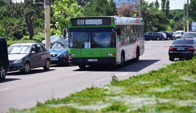 Foto: Atenție, constănțeni! Autobuzele de pe liniile 44  și 51 circulă deviat