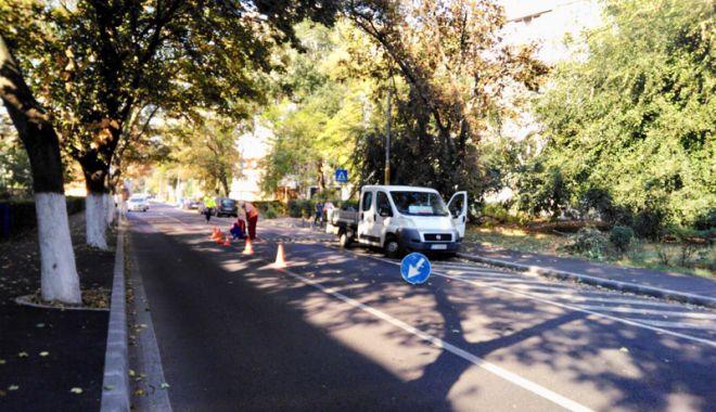 Foto: Atenție, constănțeni! Primăria restricţionează traficul pe strada Traian