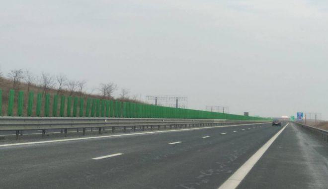 Foto: Atenţie, constănţeni! Restricţii de circulaţie pe Autostrada A4, de mâine