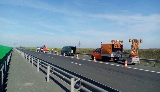 Foto: Atenţie, şoferi! Autostrada Soarelui intră în reparaţii