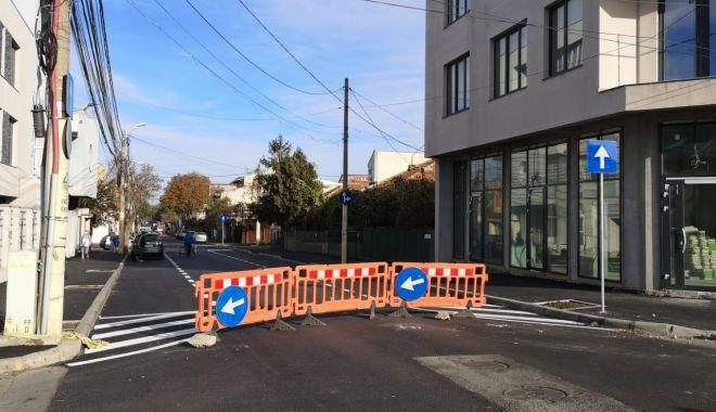 Foto: Atenție, constănțeni! Trafic restricționat în Faleză Nord. Se lucrează pe strada Unirii