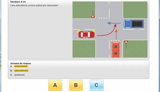 Foto: Examenul pentru permisul de conducere, suspendat