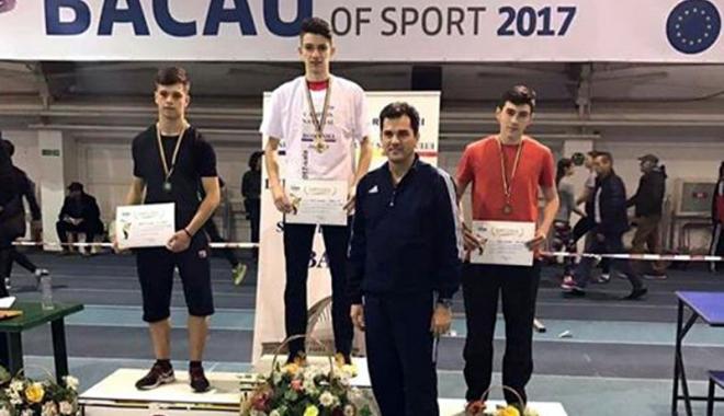 Foto: Atlet de la CS Farul Constanţa, campion naţional