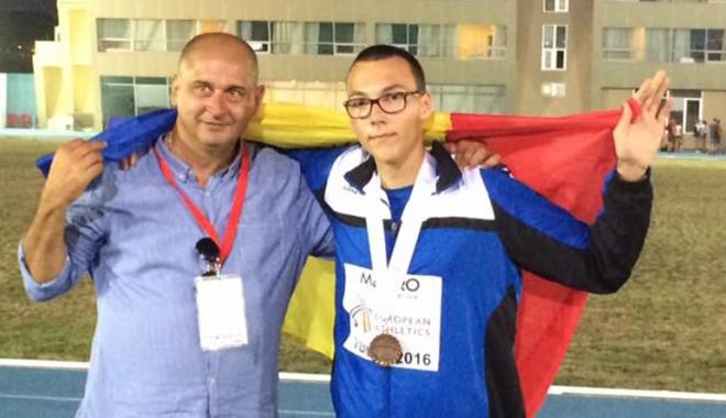 Foto: Atlet de la CS Farul, vicecampion balcanic