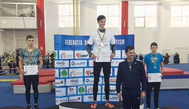Foto: Atleţii de la CS Farul, pe  podiumul Campionatului Balcanic