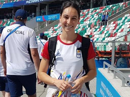 Foto: Florentina Iuşco, medaliată cu bronz la Universiadă