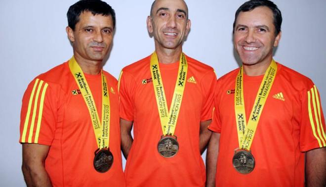 Foto: Au terminat Maratonul Internaţional de la Bucureşti