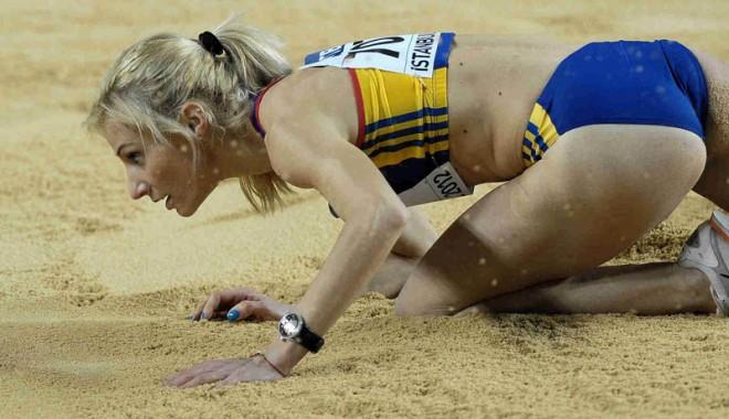 Foto: Cristina Bujin, medaliată la Grand Prix-ul de la Birmingham